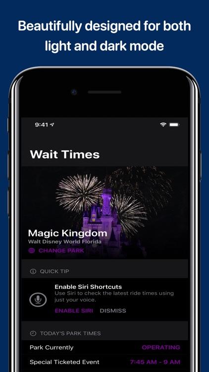 Wait Times for Disney Parks screenshot-6