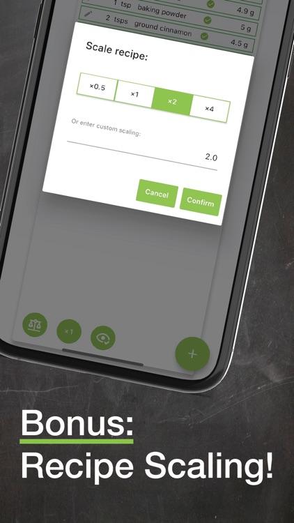 Useful Units Recipe Converter screenshot-4