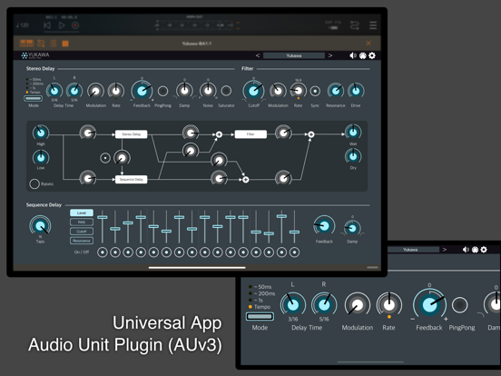 Yukawa - AUv3 Plugin Effectのおすすめ画像1