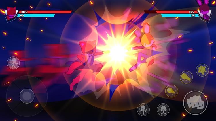 Stickman Battle Fight Hero War screenshot-3