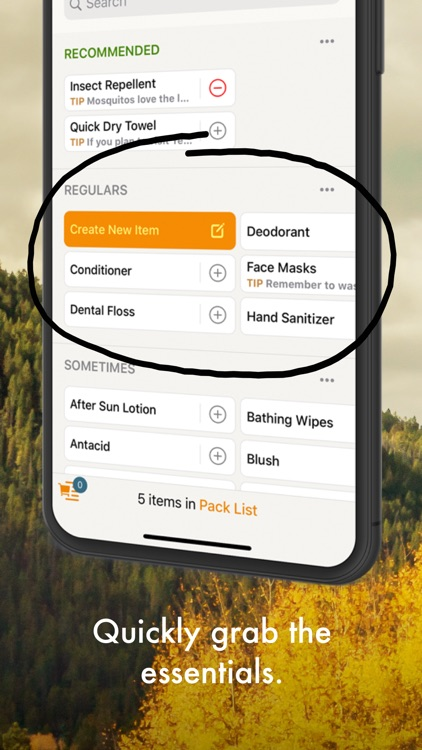 Packaroo - Packing Lists