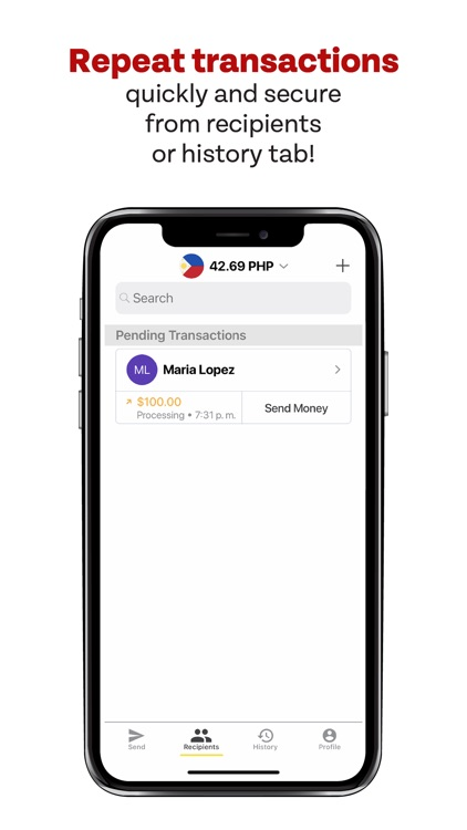 Sigue Money Transfer screenshot-6