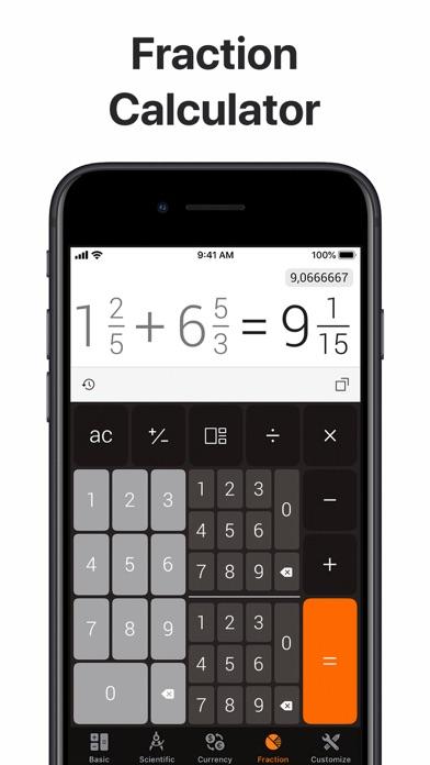 The Calculator screenshot three