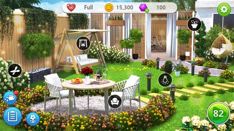 Home Design : My Dream Garden screenshot-3
