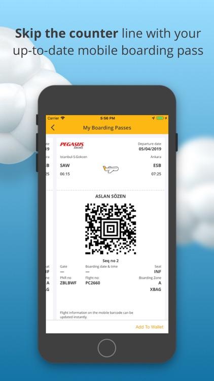 Book Flight Tickets by Pegasus screenshot-7