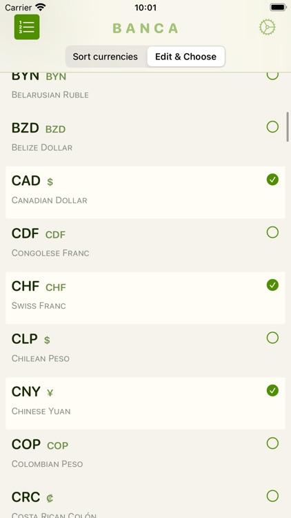 Banca currency converter screenshot-4