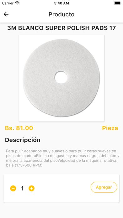 Blanco y Límpio screenshot 3
