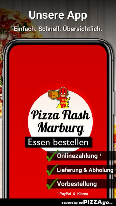 Pizza Flash Marburg screenshot 1
