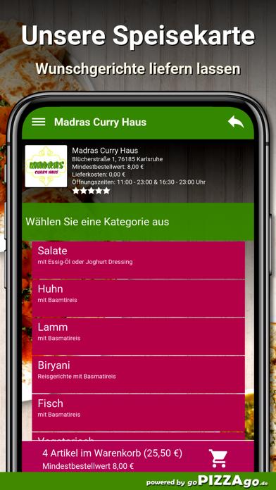 Madras Curry Haus Karlsruhe screenshot 4