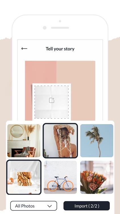 Conficia: Сollage & Post Maker screenshot-3