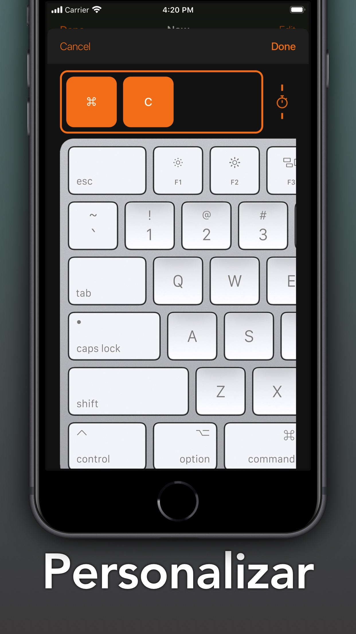 Screenshot do app Remote Numeric Keypad [Pro]