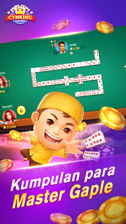 Gaple-Domino Poker online by CYNKING TECHNOLOGY CO.,LIMITED