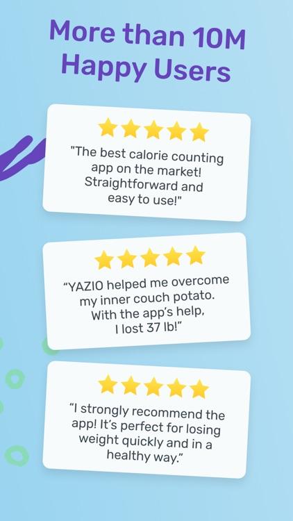 YAZIO Fasting & Food Tracker screenshot-7