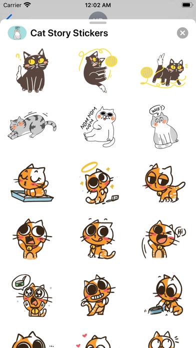 Cat Story Stickers screenshot 3