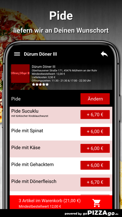 Dürum Döner III Mülheim screenshot 6