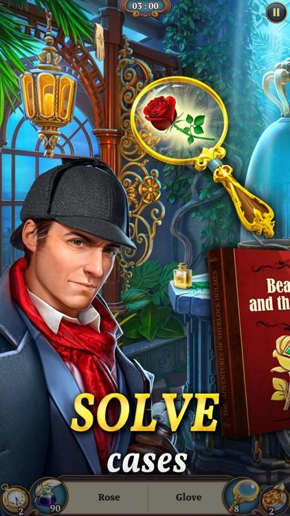 Sherlock: Hidden Match 3 Cases screenshot-0