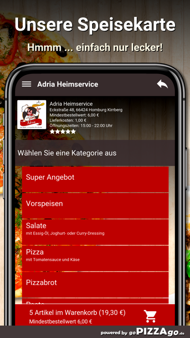 Adria Heimservice Homburg screenshot 4