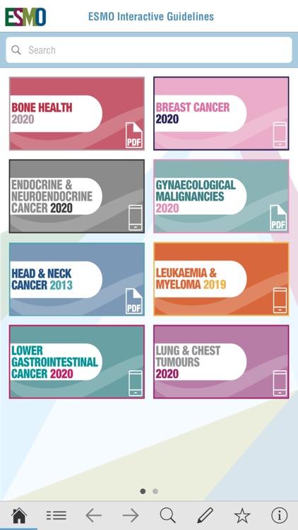 ESMO Interactive Guidelines