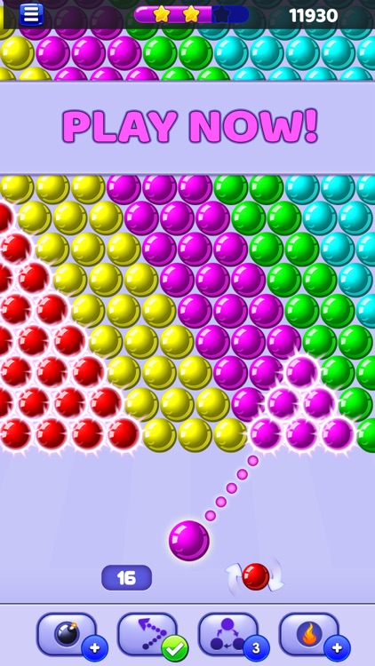 Bubble Shooter - Pop Bubbles screenshot-3