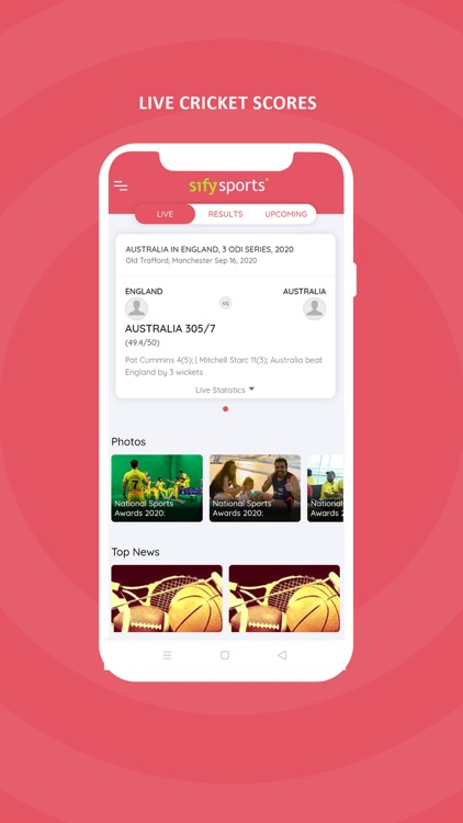 Sify Cricket Live Scores