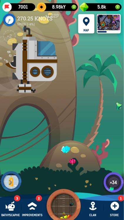 Idle Submarine: Raft to Boat screenshot-0