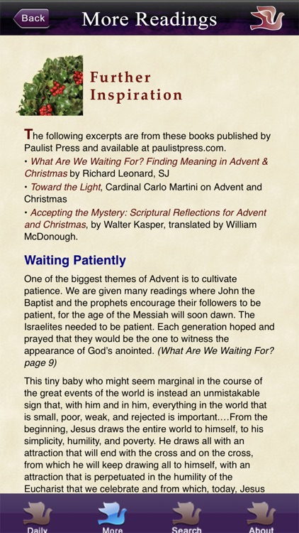 Advent with Pope Francis 2020 screenshot-4