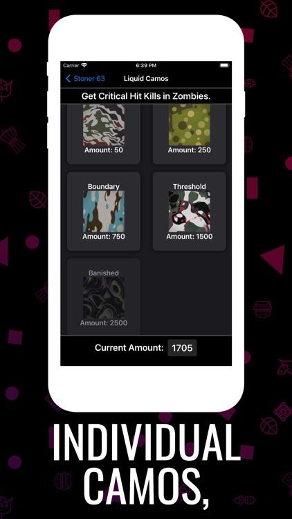 Cold War Camo Tracker screenshot-3