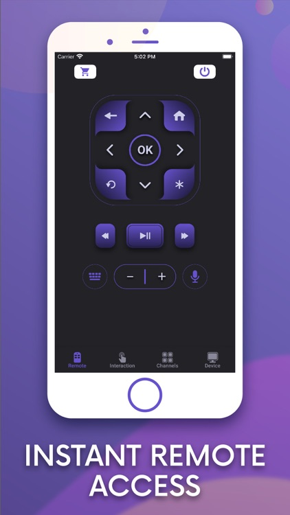 Roku TV Remote Control Rok screenshot-3