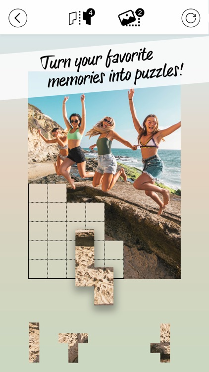 Pictominoes: Jigsaw Puzzles screenshot-5