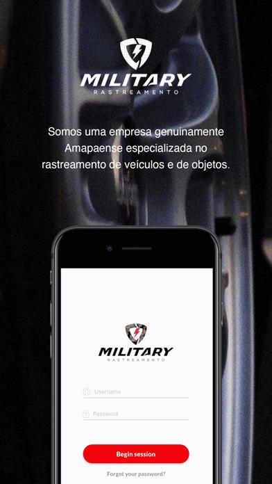 Military Rastreamento screenshot 1