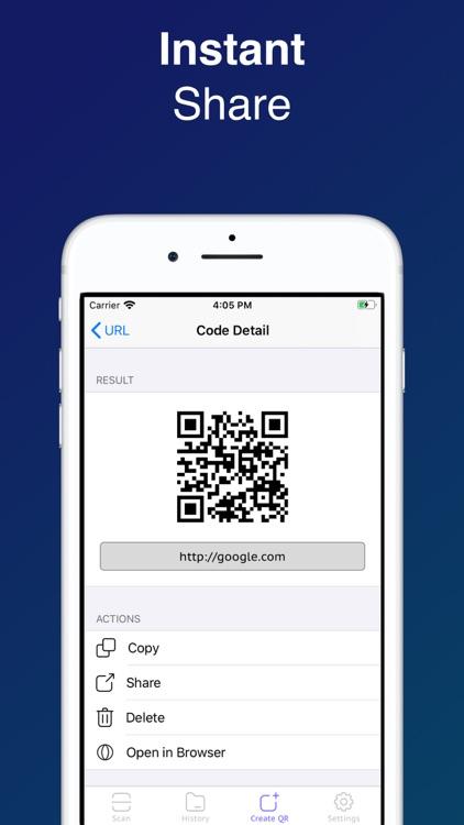 Powerscanner: QR Code Scanner screenshot-4