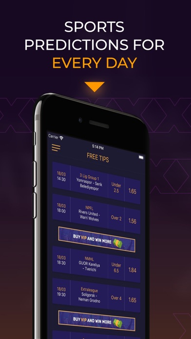 WinTips - الرهان الرياضيلقطة شاشة1
