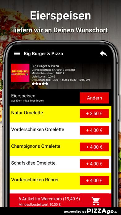 Big Burger & Pizza Eckental screenshot 6