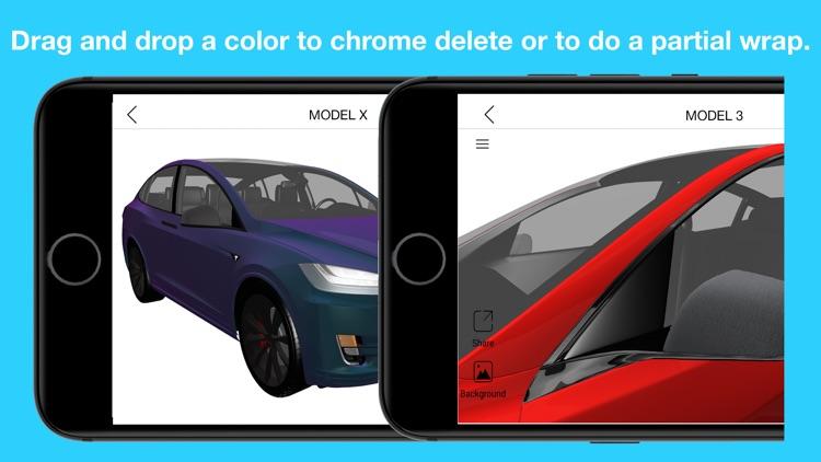 Wrap for Tesla 3D Color Change screenshot-3