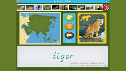Montessori - Animals of Asia screenshot 2
