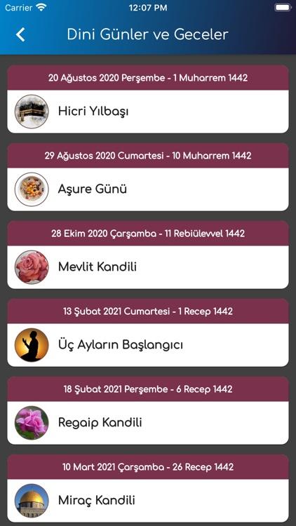 Namaz Vakitleri+Kıble Pusulası screenshot-3