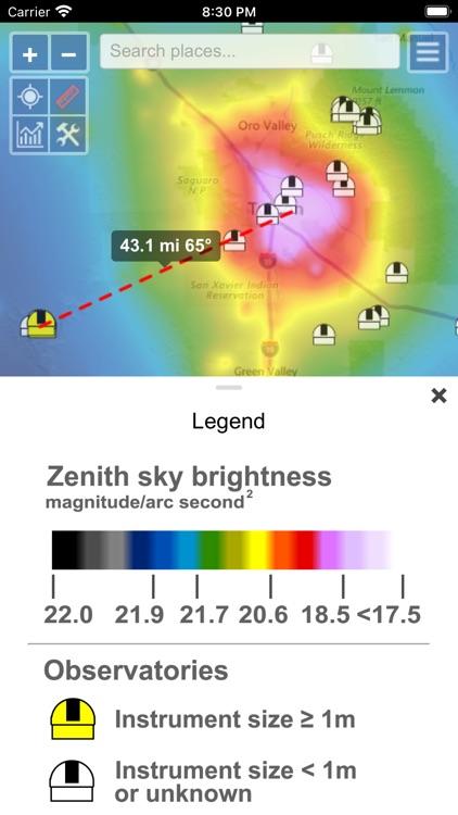 Light Pollution Map screenshot-4