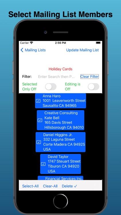 EZ Mailing Labels II screenshot-5