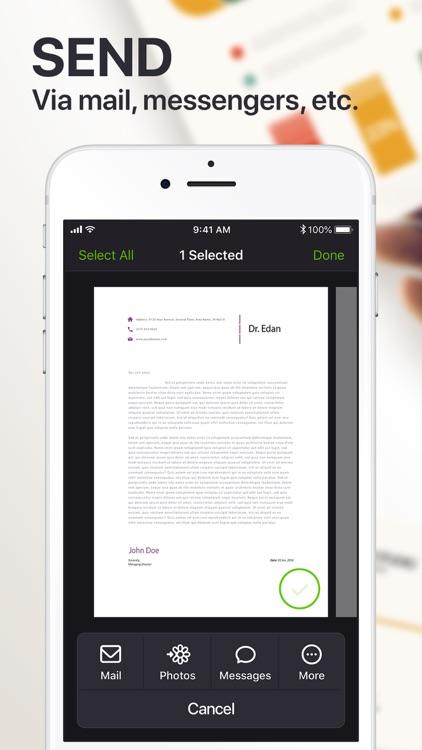 Scanner App PDF Docs & QR Code screenshot-8