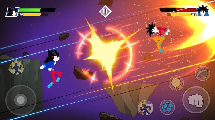 Stickman Warriors Battle screenshot-5