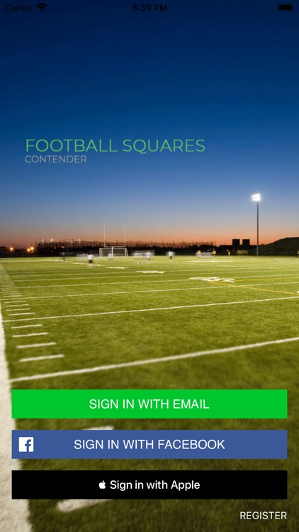 Football Squares | Contender