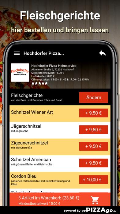 Hochdorfer Pizza Hochdorf screenshot 6
