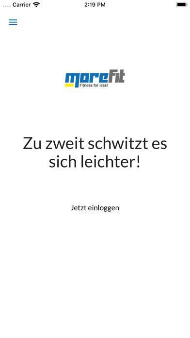 MoreFit - Fitness for less!Screenshot von 1