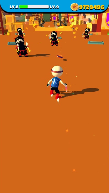 Shoot Runner : Hero vs Ninja screenshot-6
