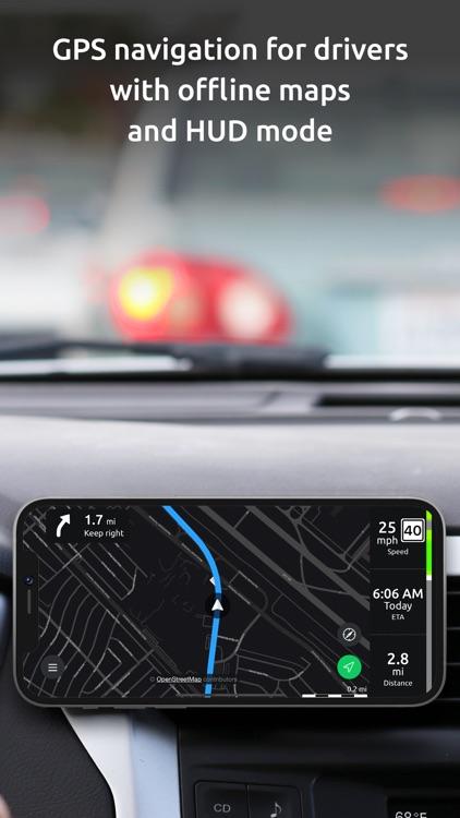 Hudway Go: Navigation with HUD screenshot-0
