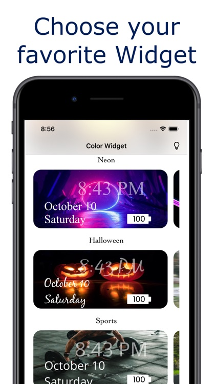Widget - Color Widget screenshot-3