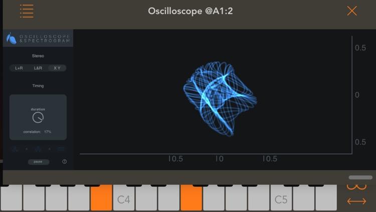 Oscilloscope & Spectrogram screenshot-3