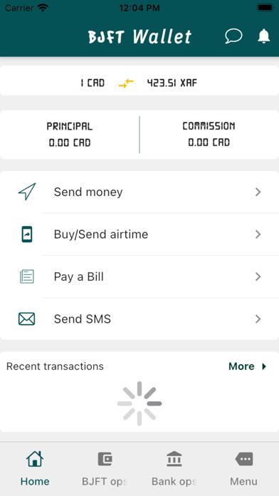 BJFT Wallet Screenshot