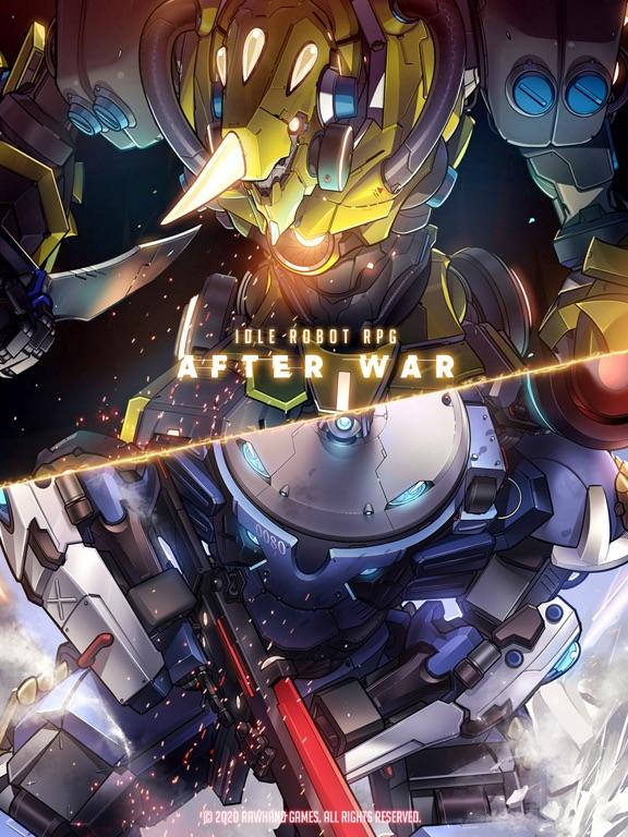 After War - Idle Robot RPGのおすすめ画像1