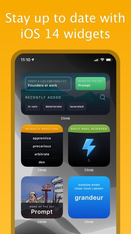 Climb – English Vocabulary screenshot-0
